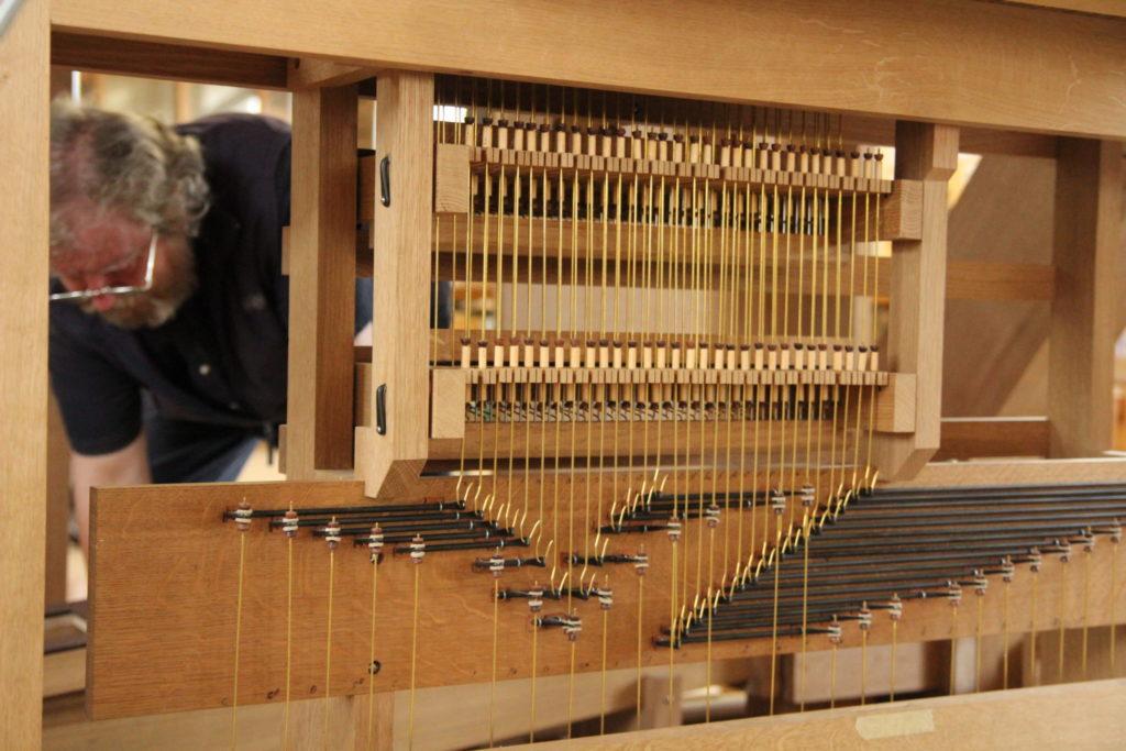 Facteur d'orgue Bernard Aubertin © Jura Nord