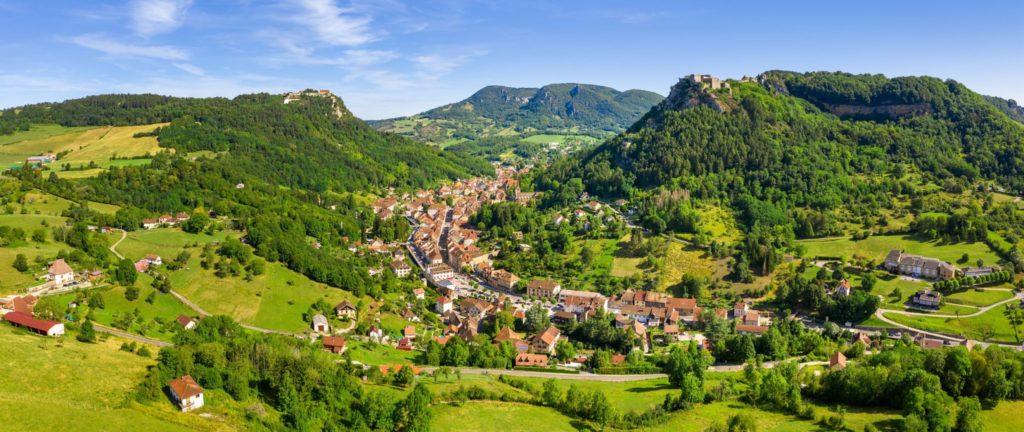 Salins-les-Bains © Stéphane Godin/Jura Tourisme