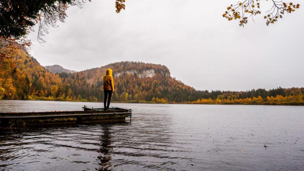 Lac de Bonlieu © Quentin Danel / Office de Tourisme Pays des Lacs et Petite Montagne