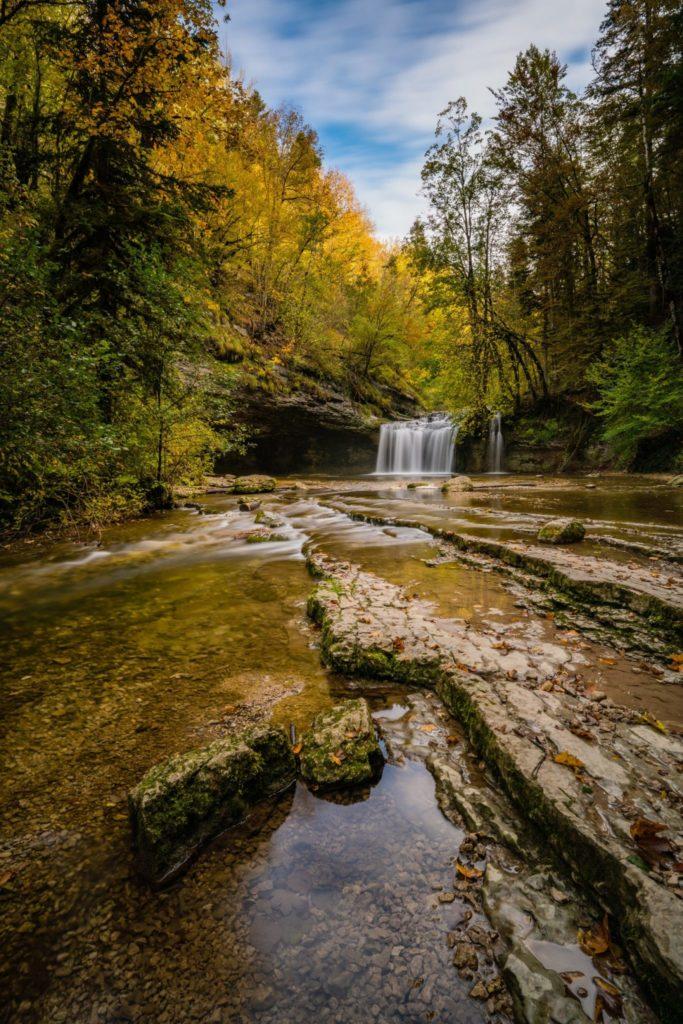 Cascades du Hérisson © Quentin Danel / Office de Tourisme Pays des Lacs et Petite Montagne