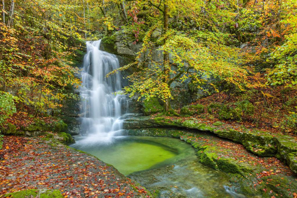 Cascade de la Rixouse © Stéphane Godin / Jura Tourisme