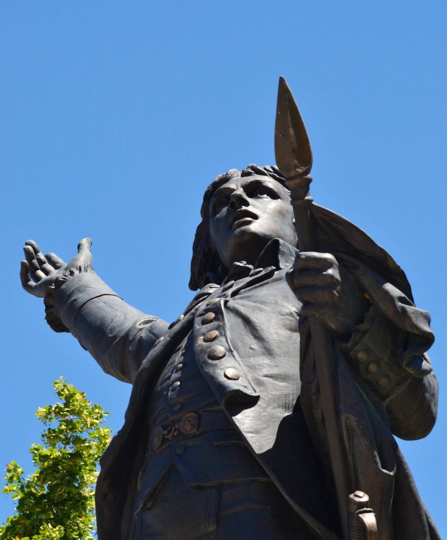 Statue de Rouget de Lisle à Lons-le-Saunier