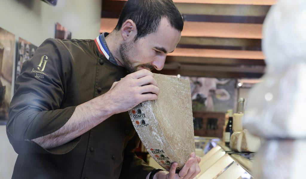 Marc Janin, fromager Meilleur Ouvrier de France © Anthony Cottarel