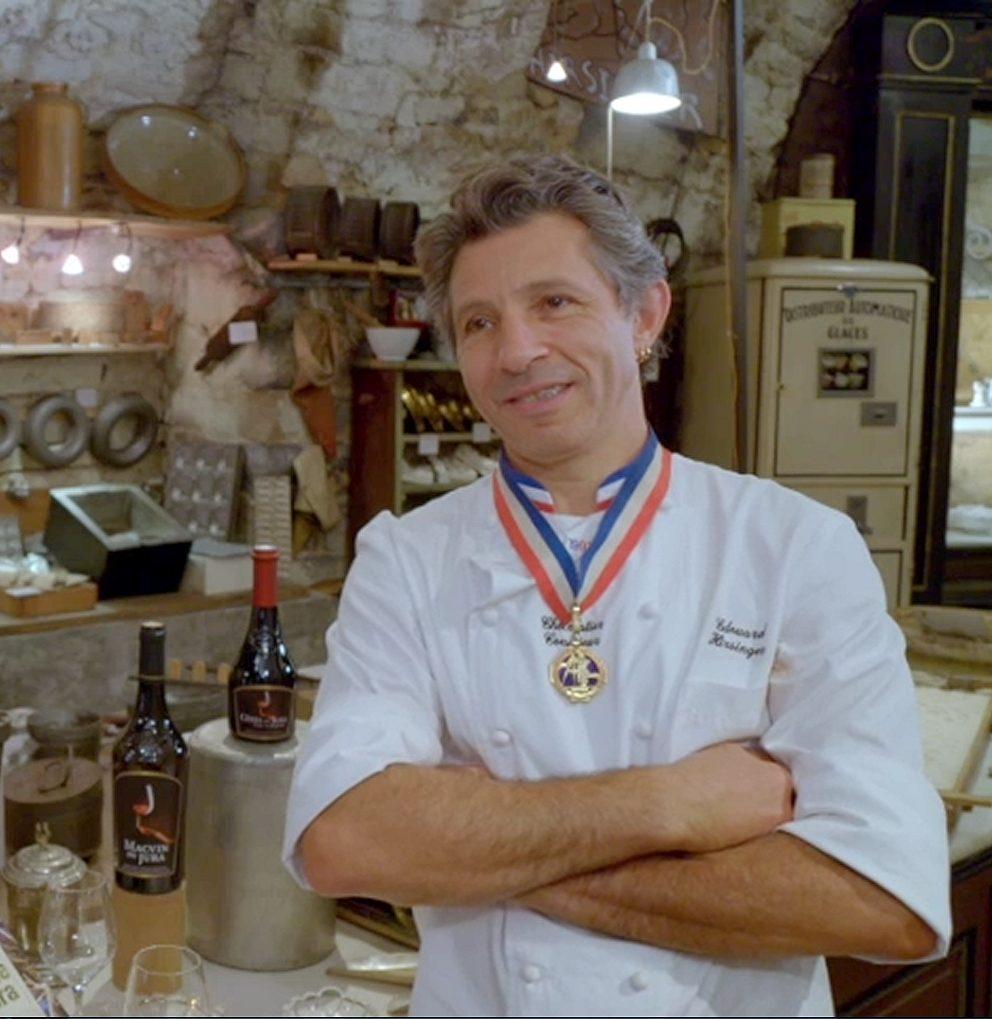 Edouard Hirsinger, chocolatier Meilleur Ouvrier de France © Jura Tourisme