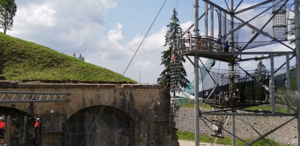 Commando Game au Fort des Rousses © Station des Rousses / Jura Tourisme