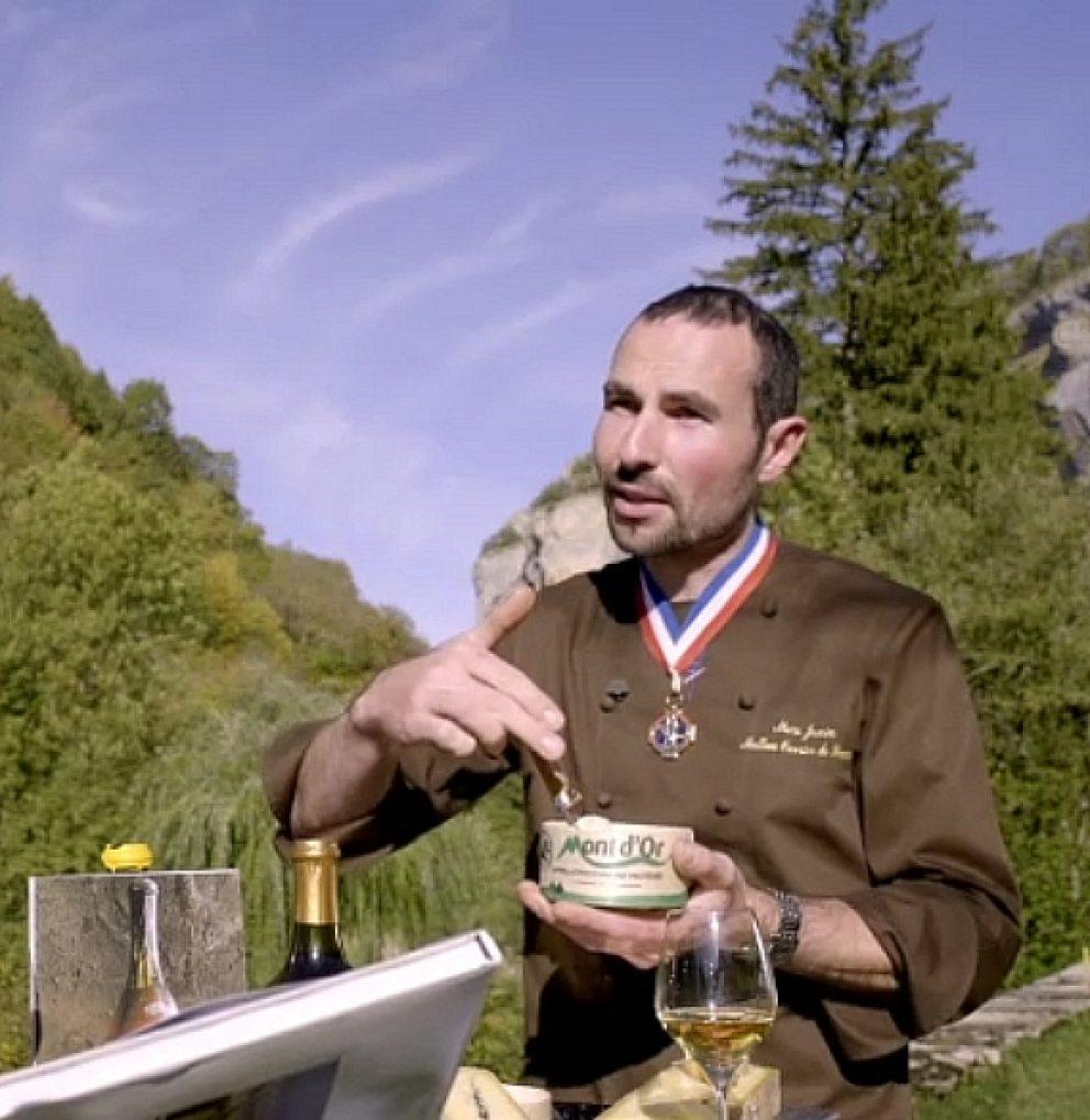 Marc Janin, fromager Meilleur Ouvrier de France © Jura Tourisme
