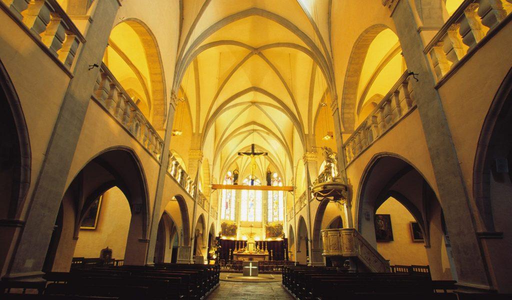 Église d'Orgelet © Stéphane Godin/Jura Tourisme