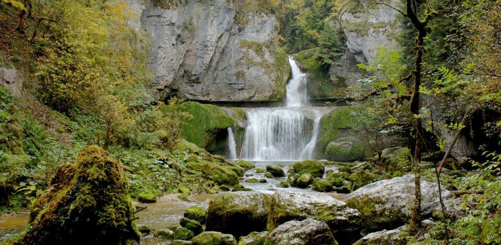 Cascade de la Billaude © Jack Carrot/Jura Tourisme