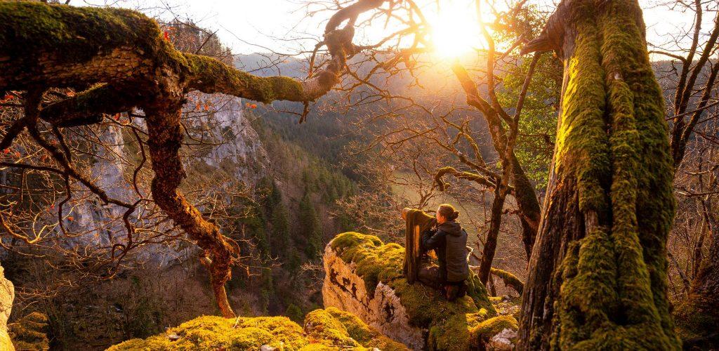 Guillaume François, photographe naturaliste à Menétru-le-Vignoble © Guillaume François/Jura Tourisme