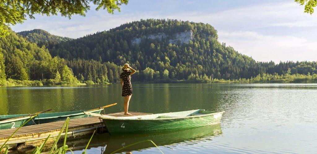 Lac de Bonlieu © Stéphane Godin/Jura Tourisme