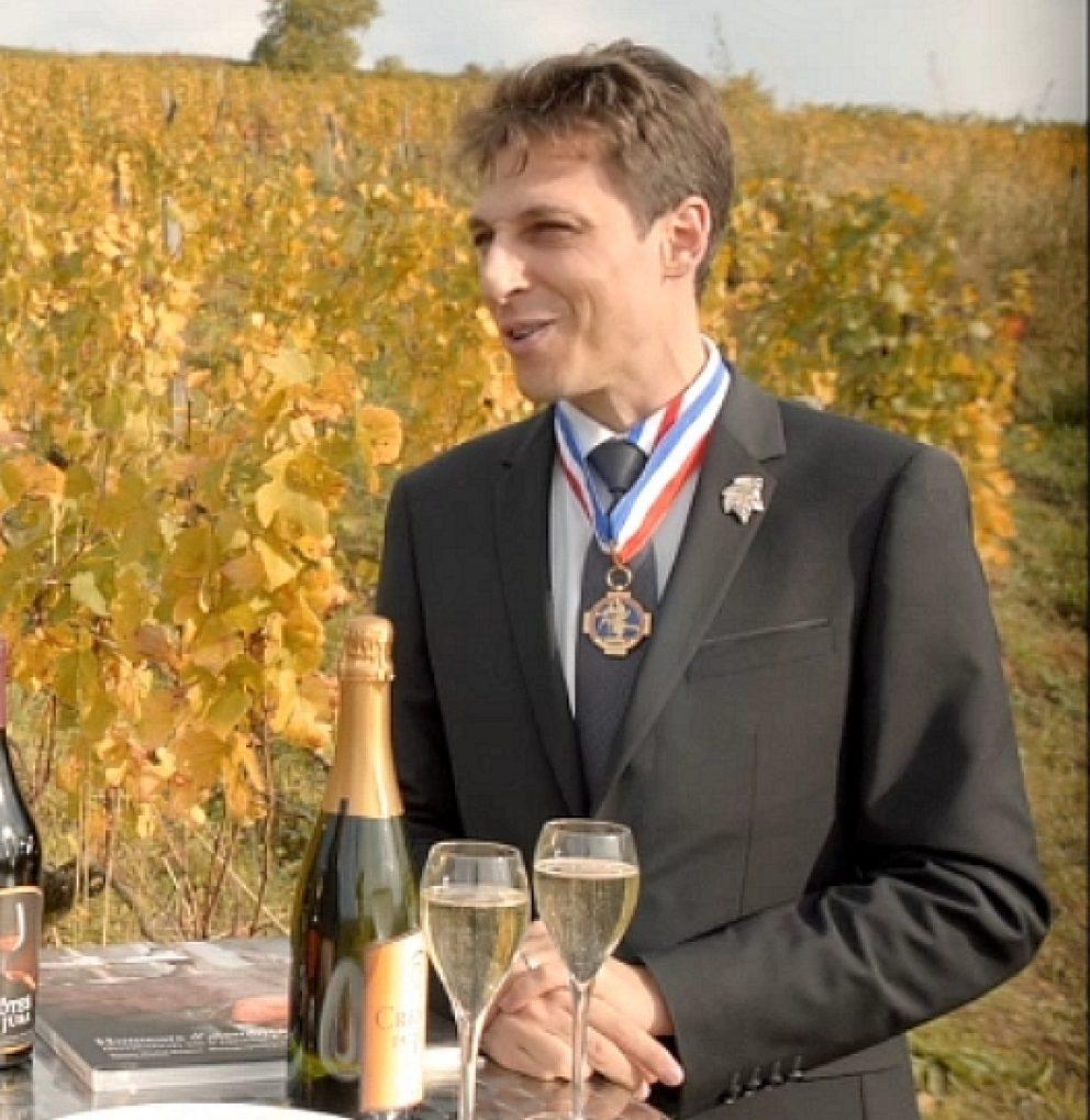 Philippe Troussard, sommelier Meilleur Ouvrier de France © Jura Tourisme