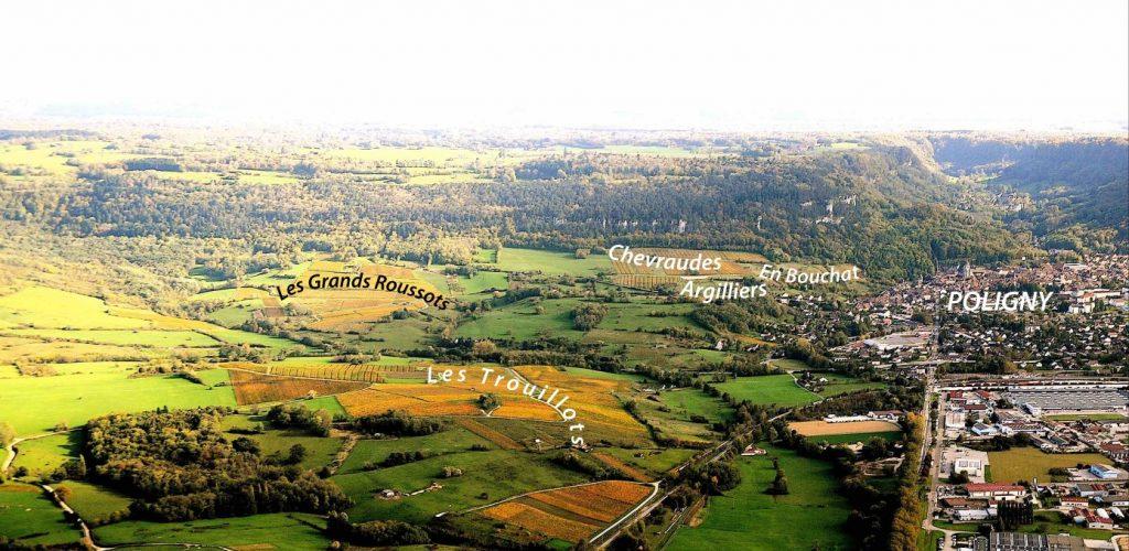 Coteaux viticoles des Trouillots, des Grands Roussots, Chevraudes, Argilliers, En Bouchot © Michel Campy