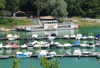Lac de Vouglans et Cascades du Hérisson