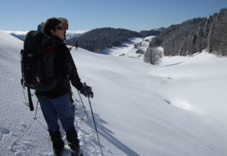 Les Montagnes du Jura en ski nordique