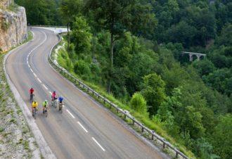 Séjour vélo dans le Jura