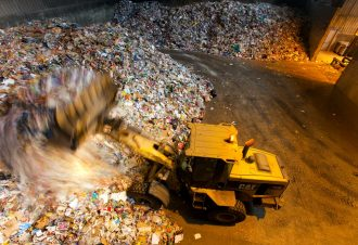 SYDOM Usine de traitement des déchets ménagers