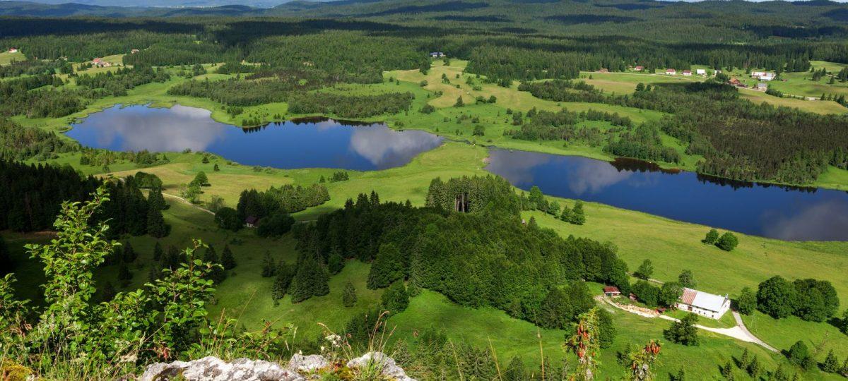 L'Échappée Jurassienne entre lacs, rivières et montagnes : Lons – Saint Claude