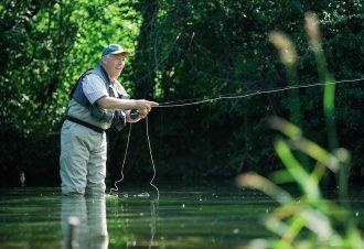 Week end de pêche dans le Jura