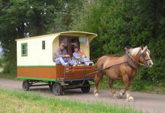 La Bohème en roulotte dans le Haut-Jura