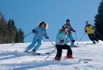 Formule skieur à la station des Rousses